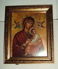 "GERFFERT OUR LADY OF PASSION Framed Print 12""by 10"" NIB Lady Perpetual Help"