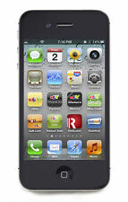 NEW APPLE IPHONE 4S - 32 GB - BLACK (UNLOCKED) IOS8  SMARTPHONE
