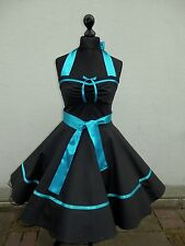Petticoat,Rockabilly,Konfirmation,Jugendweihe,Abiball,Abend,Kleid,Dress,34-54Maß