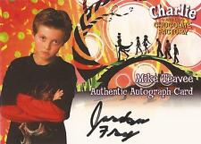 "Charlie & the Chocolate Factory - Jordan Fry ""Mike Teavee"" Auto/Autograph Card"
