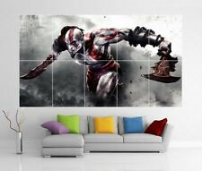 GOD OF WAR 3 III 2 XBOX PS3 VITA WII U PC GIANT WALL ART PHOTO POSTER J211