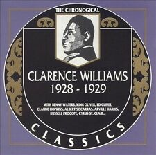 1928-1929 by Clarence Williams-CLASSICS CD NEW