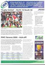 IRB TOTAL RUGBY Issue 9 MAG SWAZILAND BOTSWANA CAYMAN ISLANDS IRB AWARDS 2004