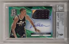 Dante Exum 14/15 Spectra Patch Auto RC Rookie #10 Serial #1/5 BGS 9/10