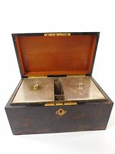 Vintage Tiffany & Co. Makers Wooden Humidor Cigar Box Silver Lining Trunk CC103