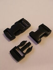 50 Side Quick  Release Buckle Clips fits 20mm Webbing Straps