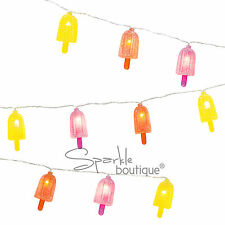 ICE LOLLY STRING LIGHTS - Summer Party Decoration/Garland/Banner/Lollies/Cream