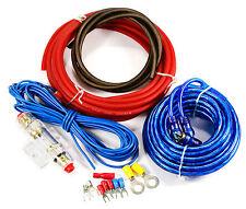 Kit Câblage Amplificateur Voiture AMP Câble Fusible Audio Sonore Câble RCA 400W