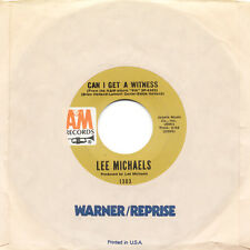 LEE MICHAELS Can I get A Witness / You Are What You Do US Press A&M 1303 SP