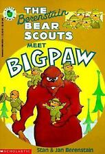 The Berenstain Bear Scouts Meet Bigpaw (Berenstain Bears Bear Scouts)-ExLibrary