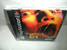 Tunnel B1 (Sony PlayStation 1, 1997) COMPLETE WITH MANUAL TESTED