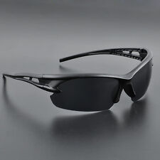 Mens Windproof UV400 Glasses Outdoor Cycling Sunglasses Aviator Driving Goggles