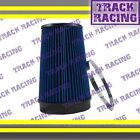 """UNIVERSAL 6 INCHES 6"""" 152mm DIAMETER TRUCK COLD AIR INTAKE DRY FILTER 2006 Blue"""