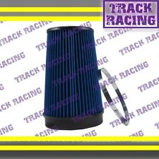 "UNIVERSAL 6 INCHES 6"" 152mm DIAMETER TRUCK COLD AIR INTAKE DRY FILTER 2006 Blue"