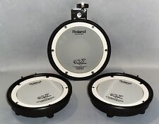 Roland PDX-8 & 2-PDX-6 Dual Trigger Mesh Head V-Drum Rubber Pad Upgrade Set