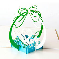 New 3D Pop Up Greeting Cards Sunflower Birthday Mother Day Thank You Christmas E