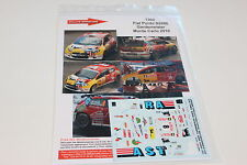 DECALS 1/43 FIAT PUNTO S2000 GARDMEISTER RALLYE MONTE CARLO 2010 RALLY WRC