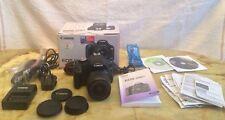 Canon EOS 500d 15.1mp Fotocamera Reflex Digitale-Nero (Kit con EF-S 18-55mm IS Lens)
