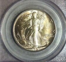 1941-D Walking Liberty Silver Half Dollar - PCGS MS 65
