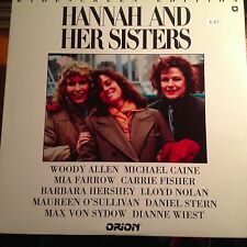 HANNAH AND HER SISTERS Widescreen  Laserdisc ID3634OR