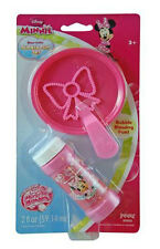 Disney Minnie Mouse Kids Bubble Fun Set Toy PARTY FAVORS