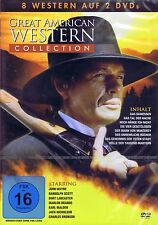 DOPPEL-DVD NEU/OVP- Great American Western Collection - 8 Filme