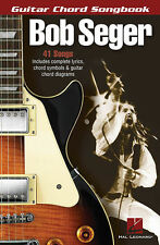Bob Seger Guitar Chord Songbook 41 Songs! Book NEW!