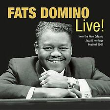 The Legends of New Orleans: Fats Domino Live! by Fats Domino (CD, Apr-2003,...