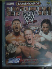 Complet  Collection Wrestling  Album  150 lamincards WWE, SMACK DOWN, RAW PANINI