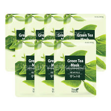 [THE YEON] Green Tea Mask 22ml * 7pcs / Revitalizing & Moisture