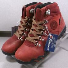 NELE-TEX RED LMSPBT90 Womens Shoes Size 7 M Leather Lace Up Boot Mephisto