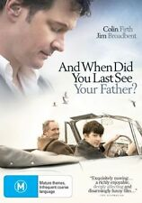 And When Did You Last See Your Father? (DVD, 2008) New & Sealed, Region: 4