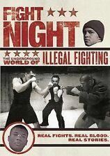 Fight Night: The Underground World of Illegal Fighting,Excellent DVD, John B. Ne