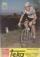 MANUEL ESPARZA Cyclisme ciclismo Cycling Team TEKA 81 Tour de France Cycliste