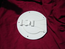 "RV trailer WHITE awning tent pole STORAGE HATCH 4"" round"