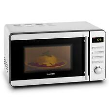 1000 W ELECTRIC MICROWAVE OVEN GRILL 2 IN 1 STAINLESS STEEL 20 L DEFROST