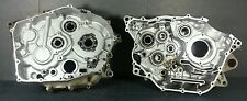 2004 Yamaha Warrior 350 ATV Center Cases Crankcases Pair Crankcase crank case 04