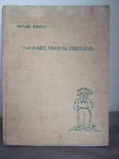 The Magic Train to Storyland - Adventures of Pongo the Pup 1949 Illust