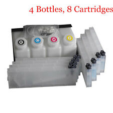 Mimaki Bulk Ink System Continuous for Mimaki JV33 JV5 (4 Bottles, 8 Cartridge)
