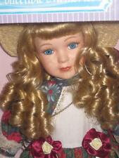 Collectible Memories VICTORIAN GIRL Porcelain 15inch Doll Exclusive Limited NRFB