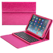 Wireless Bluetooth Keyboard Case Cover Removeable Rechargeable iPad Mini 1 2 3