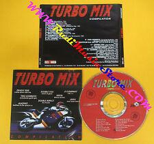CD Compilation Turbo Mix ALADINO LA NOTTE DJ BOBO NIKITA HEART no mc dvd(C8)