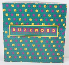 Vintage 1995 Buzzword Fastest Word Game Ever Letter Dice Scrabble-like