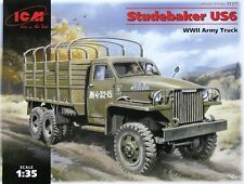 ICM 1/35 Studebaker US6 WWII Army Truck # 35511