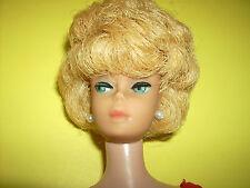 #850 Bubblecut doll Bubble Cut Blonde w box Complete 1960's Vintage Barbie