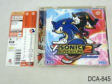 Sonic Adventure 2 Japanese Import Dreamcast Sega DC Japan US Seller A/VeryGood