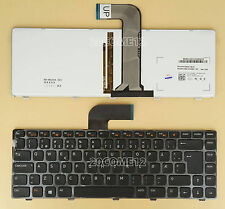 NEW For DELL VOSTRO 3350 3450 3460 3550 Keyboard Backlit Norwegian Norsk
