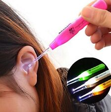 Hot Fashion LED Light Hot Ear Pick Tools Cleaner Wax Remover Curette New