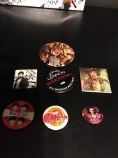VTG the Beatles 1964 John Lennon Hendrix Monkees Adam Ant Bruce Rock N Roll Pins