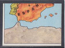 Panini - Europa 80 - # 7 Europa Map